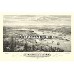 Veduta antica USA: Olympia 1879.