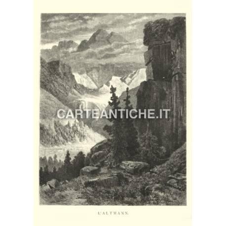 Veduta antica Svizzera: L'Altman