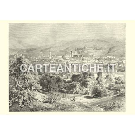 Veduta antica Svizzera: San Gallo