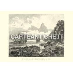 Veduta antica Svizzera: Lago di Lowerz