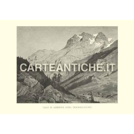 Svizzera: Valle di Ammerten sopra Trachsellauenen.