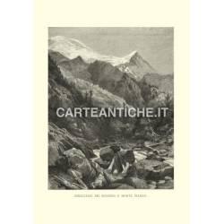 Svizzera: Ghiacciaio dei Bossons e Monte Bianco