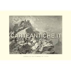 Svizzera: alpinisti sul picco d'Arzinol nel vallese.