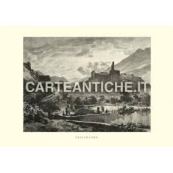 Veduta antica Svizzera: Bellinzona