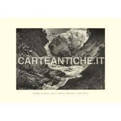 Svizzera: Cateratta della Piotta presso Faido sul S.Gottardo.