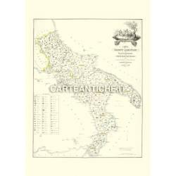Carta dei prodotti alimentari - Regno delle due Sicilie (1866)
