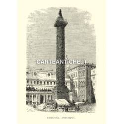 Roma: Colonna Antonina.