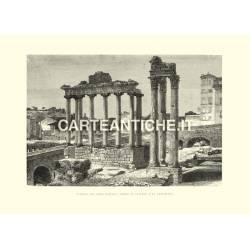 Foro Romano: tempii di Saturno e Vespasiano