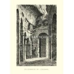 Un corridoio del Colosseo.