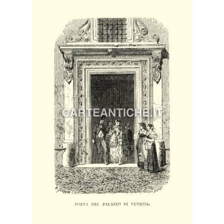 Porta del palazzo di Venezia