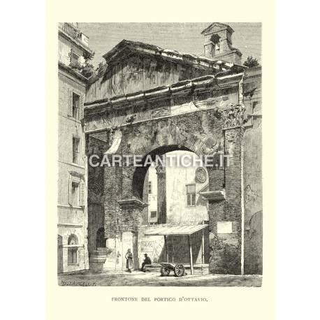 Frontone del Portico d'Ottavio