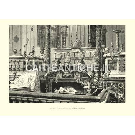 Altare e Monumento di Santa Cecilia