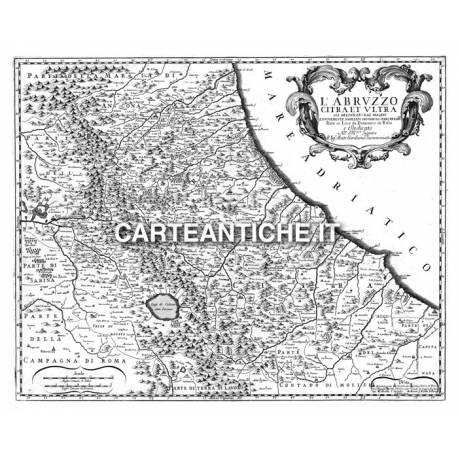 Abruzzo, carta antica 01.