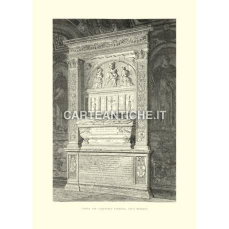 Tomba del cardinale Ferricci, alla Minerva.