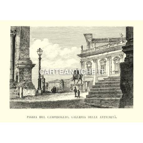 Piazza del Campidoglio - Gallerie delle antichità