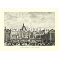 Piazza San Pietro alla grande benedizione