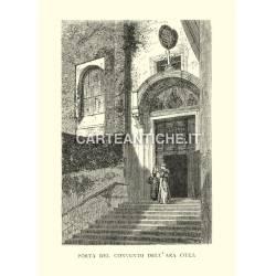 Porta del Convento dell'Ara Coeli.