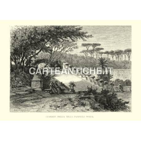 Giardini della Villa Pamphili Doria