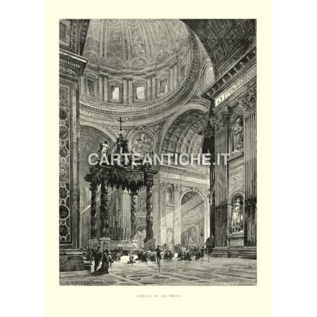 Interno di San Pietro.