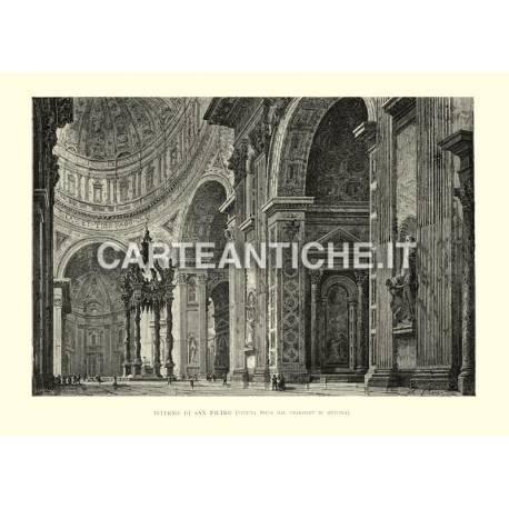 Interno di San Pietro (veduta dal transsept di sx)