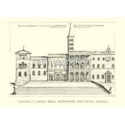 Basilica Vaticana antica - facciata esterna
