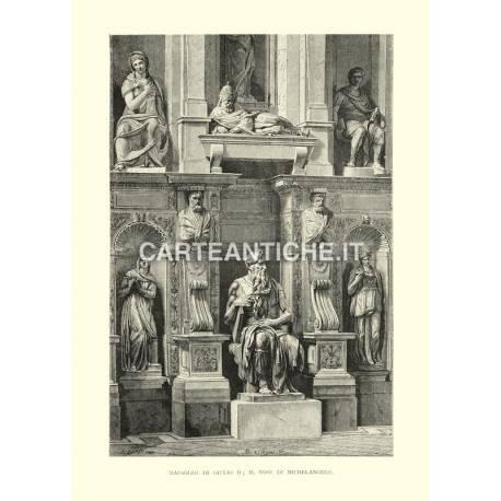 Mausoleo di GIulio II - Il Mose di Michelangelo
