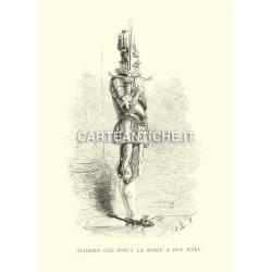 Svizzero che porta la spada a due mani