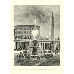 Obelisco di Caligola - Fontane di piazza San Pietro