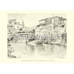 Loggia dei Farnese - Veduta dalla riva del Tevere