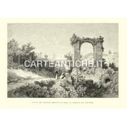Veduta del Palatino rimpetto al Celio