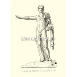 Statua di Pompeo al Palazzo Spada