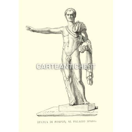 Statua di Pompeo al Palazzo Spada.