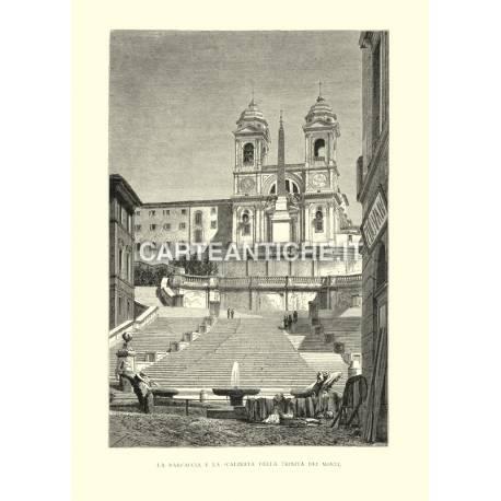 Barcaccia e Scalinata della Trinità dei Monti.