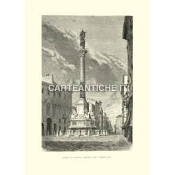 Piazza di Spagna - Colonna dell'Immacolata