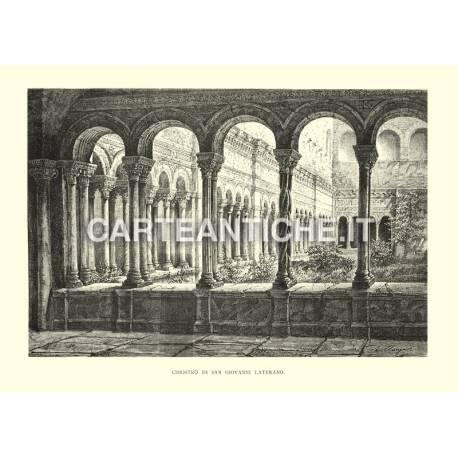 Chiostro di San Giovanni di Laterano.