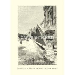 Scalinata di Trinità de' Monti - Villa Medici