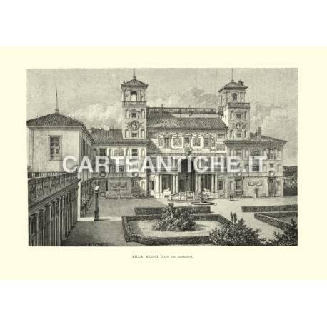 Villa Medici (lato dei giardini).