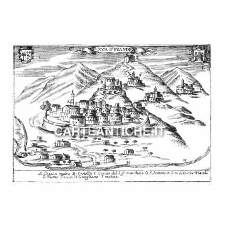 Prospetti storici: Rocca d'Evandro 01