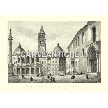 Santa Maria Maggiore (facciata di Benedetto XIV)