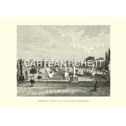 Terrazze e portico alla Villa Albani Castelbarco