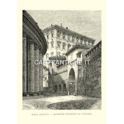 Porta Angelica - Abitazione pontificia al Vaticano