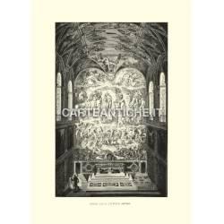 Fondo della Cappella Sistina