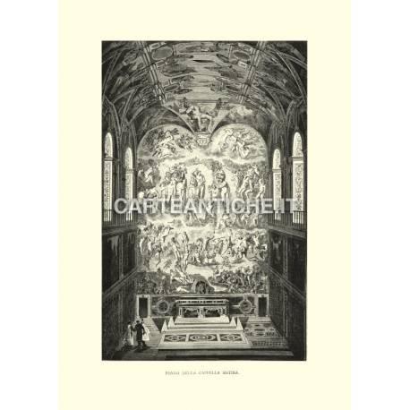 Fondo della Cappella Sistina.