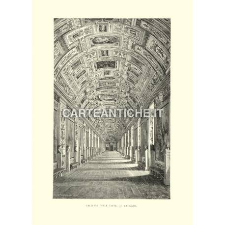 Galleria delle Carte, al Vaticano.