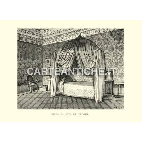 Camera da letto del pontefice