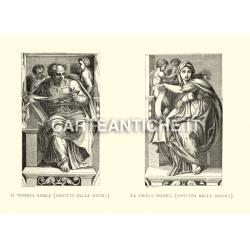Il profeta Gioele e la Sibilla Delfica