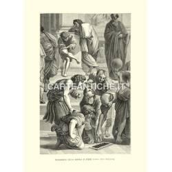 Musei Vaticani: frammento della Scuola d'Atene