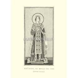 Santa Agnese dal mosaico del coro