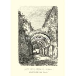 Archi dei SS. Giovanni e Paolo, discendendo il Celio