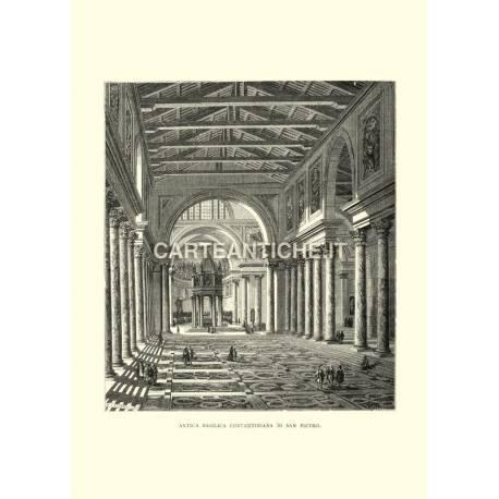 Antica Basilica Costantiniana di San Pietro.